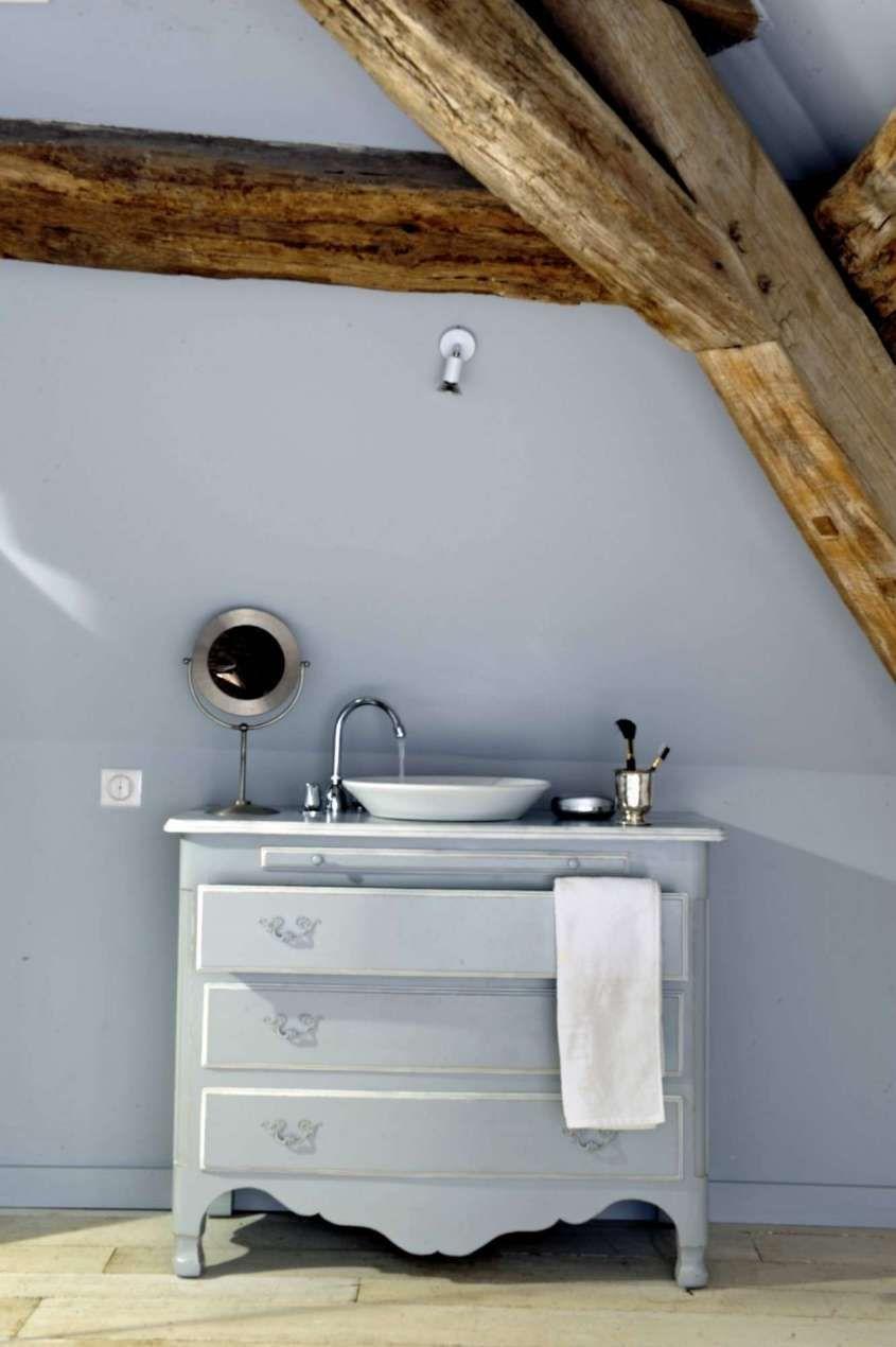 per arredare il bagno in stile country - Mobile lavabo in stile ...