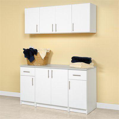 prepac furniture elite storage laundry room cabinet set on lowe s laundry room storage cabinets id=87738