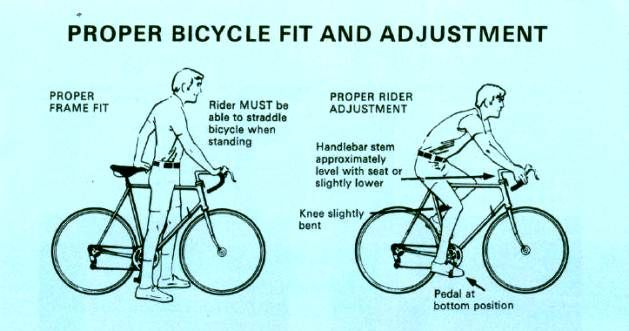 Is It Weird To Have Saddle Lower Than Handle Bars Page 2 Bike