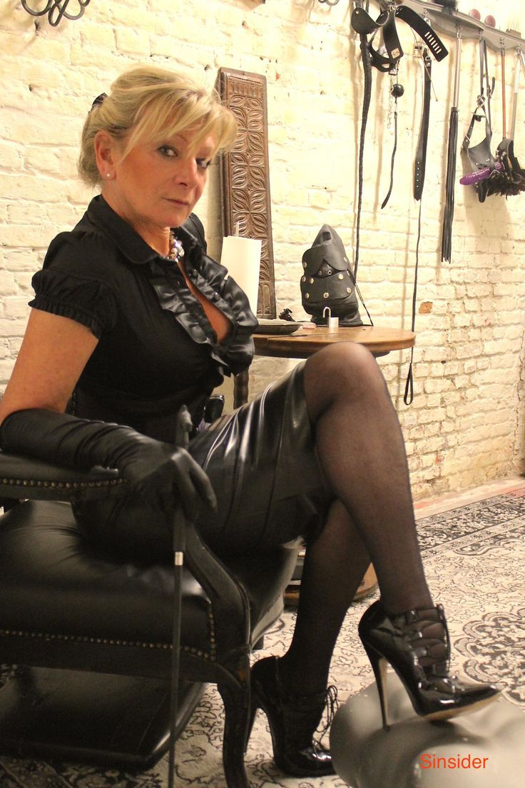 Mature foot mistress