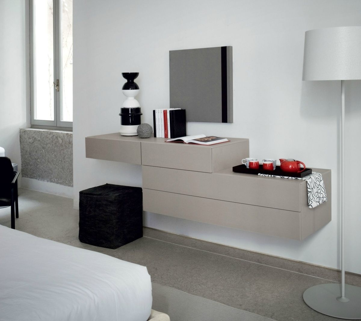 a popular and well-priced ultra modern dressing table that comes
