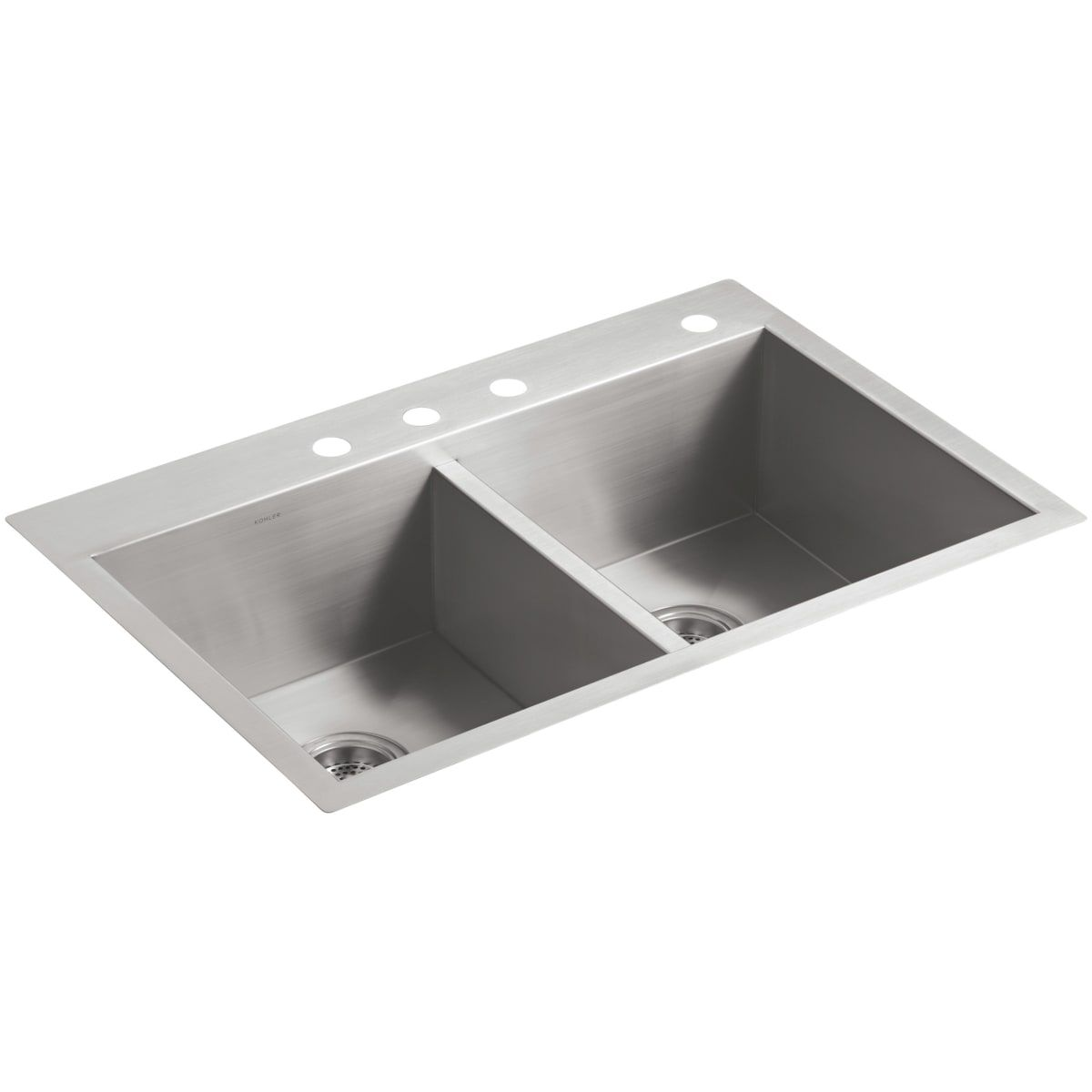 Kohler K 3820 4 Double Bowl Kitchen Sink Sink Stainless Steel