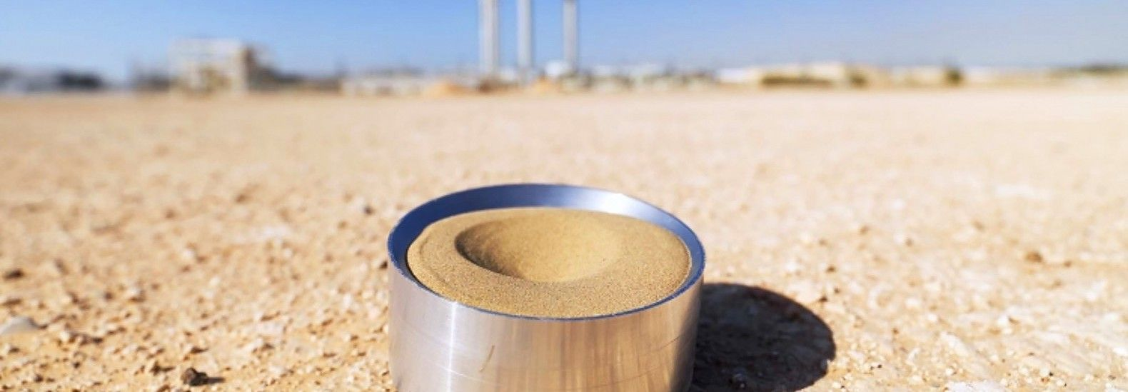 Masdar Institute tests new tech that uses sand to store solar heat