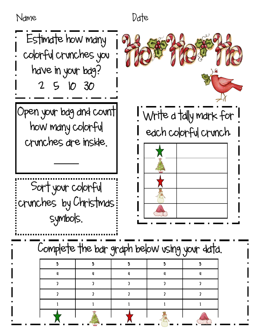 Fun math activity with Christmas Captain Crunch cereal. | Smart ...