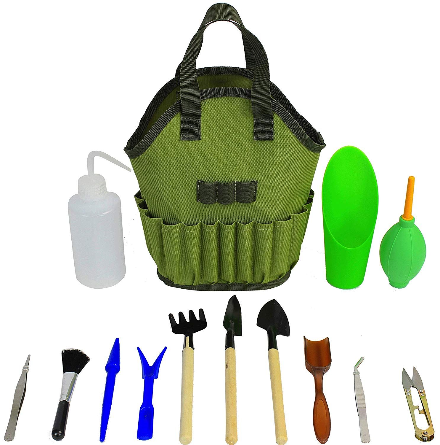 Mini DIY Garden Plant Tools Set Succulent Planting Transplanting Tools Kit
