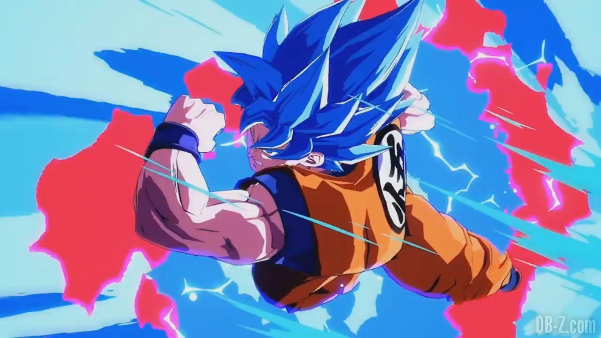Dragon Ball Fighterz Nouvelles Images De Goku Ssgss