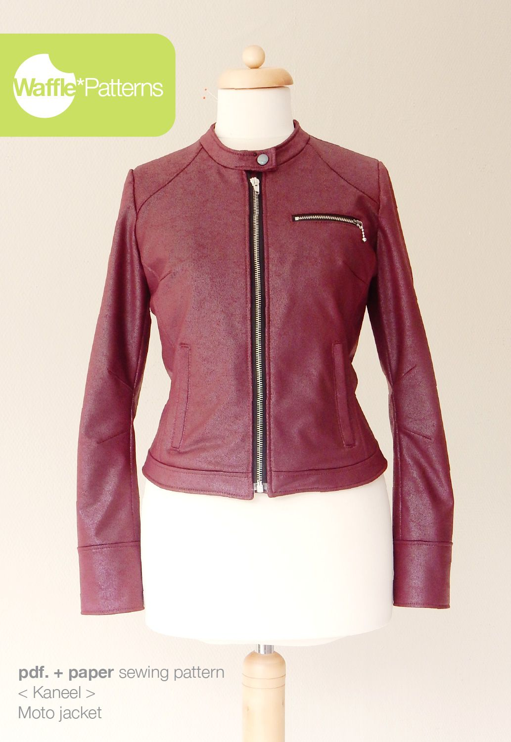 Just what I have been looking for! —>Moto jacket -Kaneel- PDF paper ...