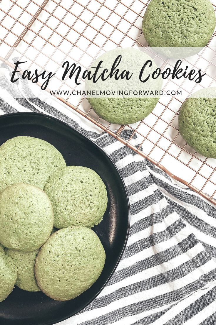 Photo of Delicious Matcha Cookies You Will Want to Make – Chanel Moving Forward