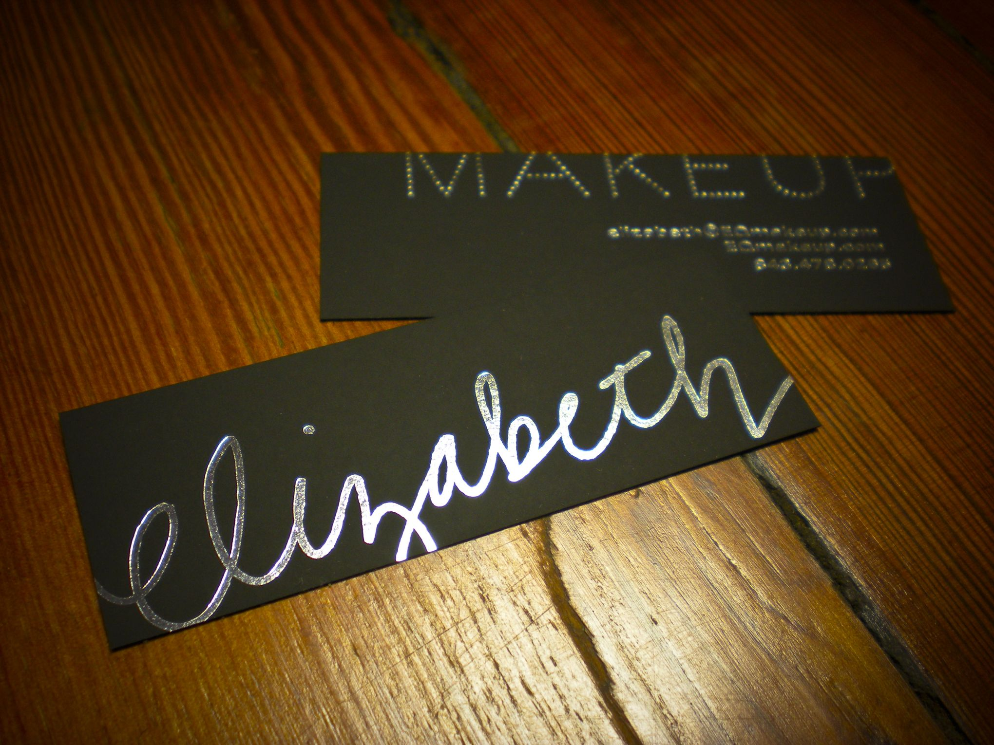Hookers Unveil Business Card for a Makeup Artist. | Hook: An ...
