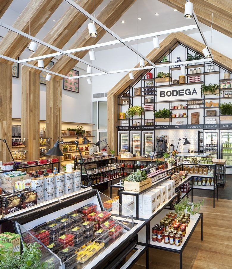 In Cooperation With Ironstate Development Concrete Introduces A New Residential Concept For The Supermarket Design Store Design Interior Grocery Store Design