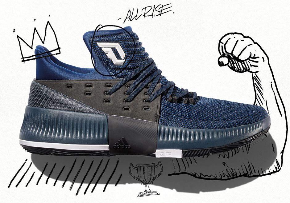 """8ea737edd8f9  sneakers  news adidas Unveils The New Dame 3 """"By Any Means"""""""