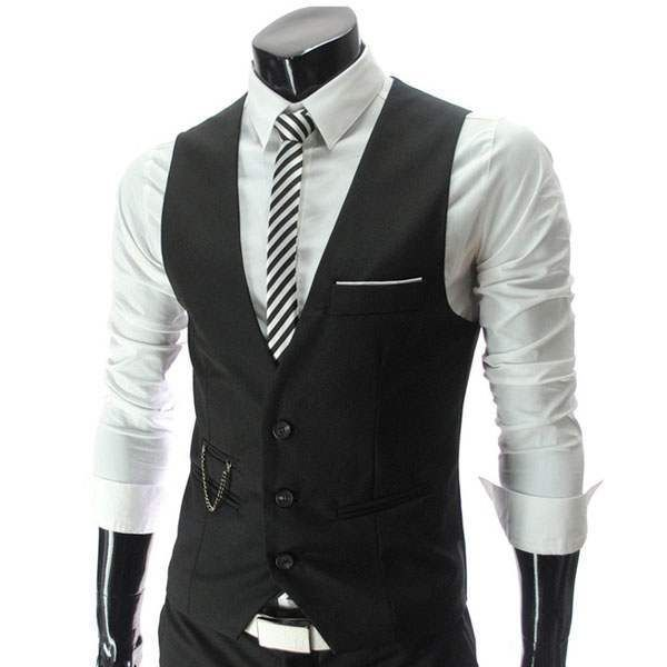 gilet veston costume homme habille fashion classe slim fit gilet homme pinterest costumes. Black Bedroom Furniture Sets. Home Design Ideas