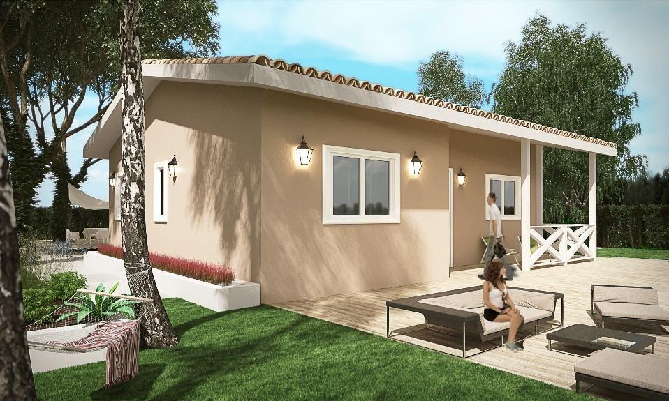 buendia ytong 72m2 casas de hormigon celular constructoras de casas on outdoor kitchen ytong id=22136