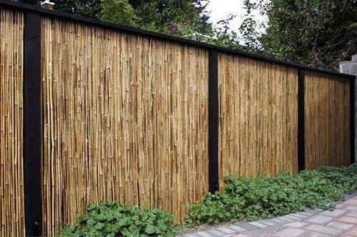 Model Pagar Bambu Unik Terupdate Saat Ini - Desain ...