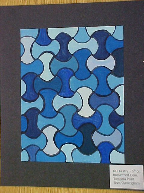 5th grade - Color Theory Paintings - Monochromatic, Analogous ...