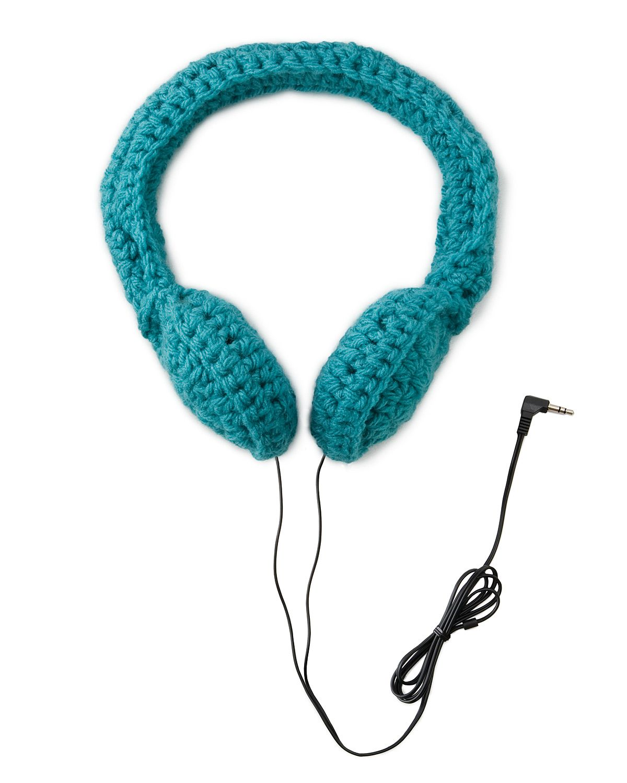 Crocheted Headphones | Auriculares, Tejido y Mimos
