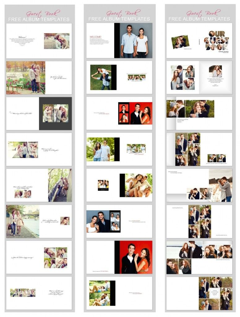 Free Wedding Guest Book Templates For Photo Books Make Yours Today At My Bridal Pix Www Mybridalpix
