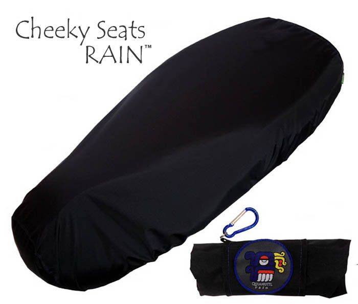 TOP LOOK! Cheeky Seats RAIN cover Scooter seat sun protector