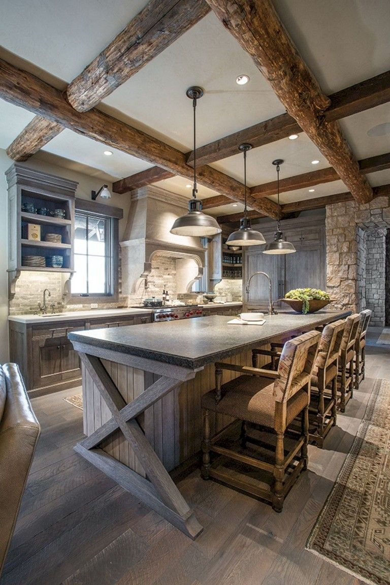 135 Lovely Western Style Kitchen Decorations Ideas Page 35 Of