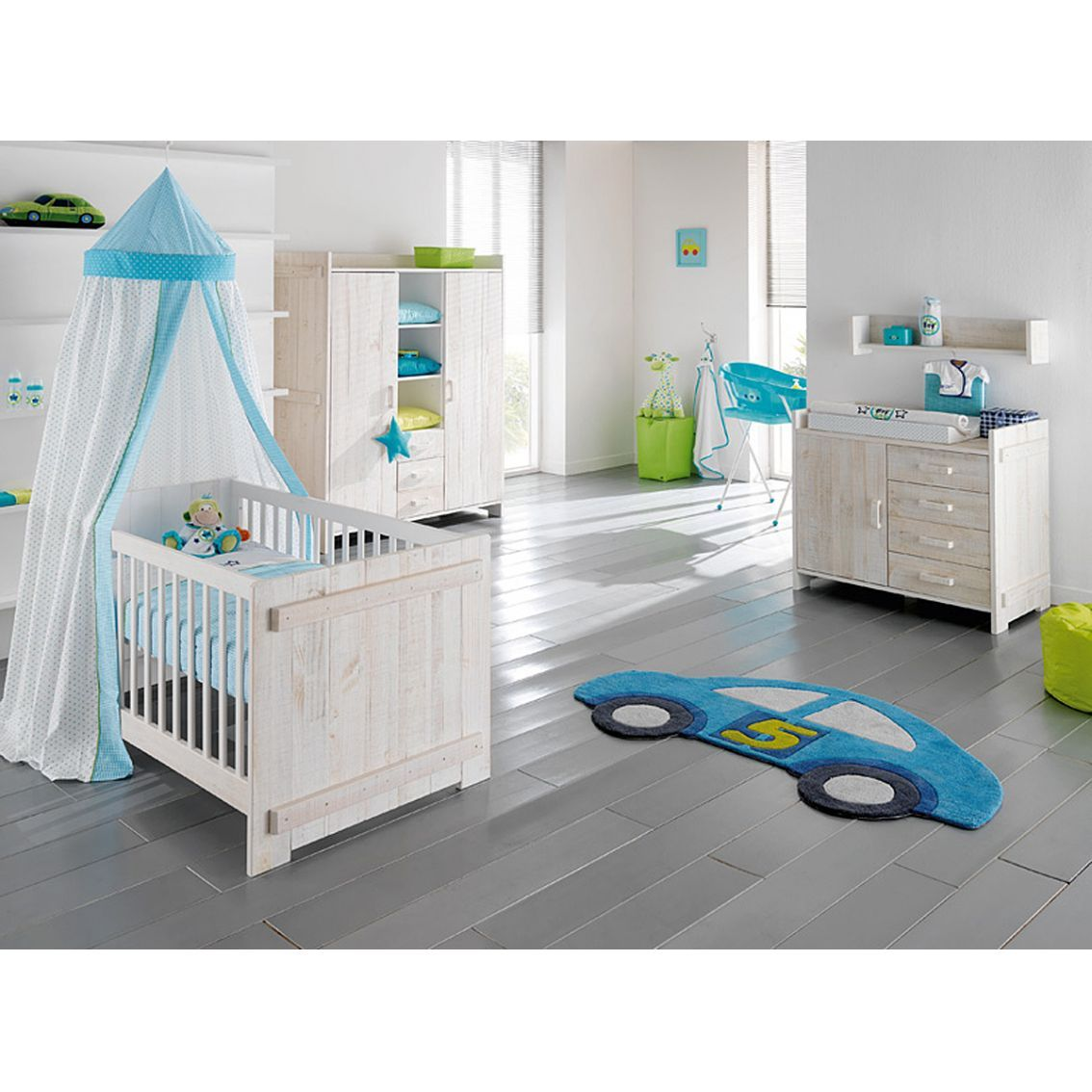 Europe Baby Jelle White Nursery Furniture Set | For my future babies ...