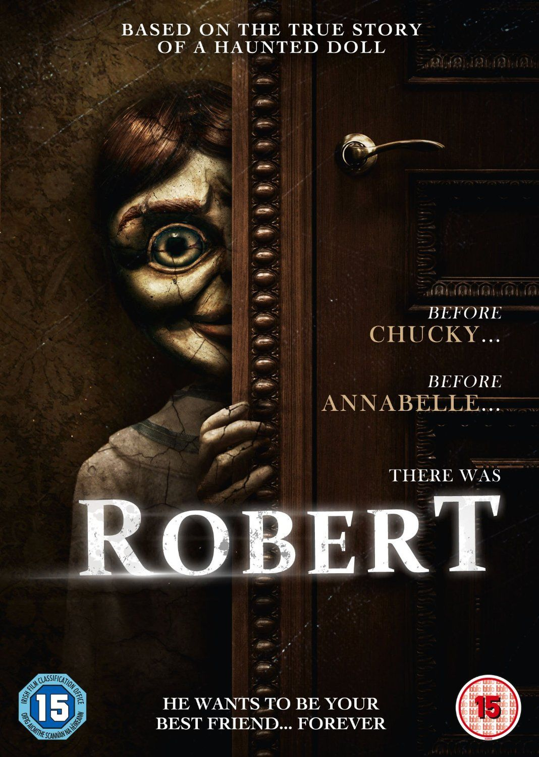 robert the haunted doll horror movie on the way scary pinterest