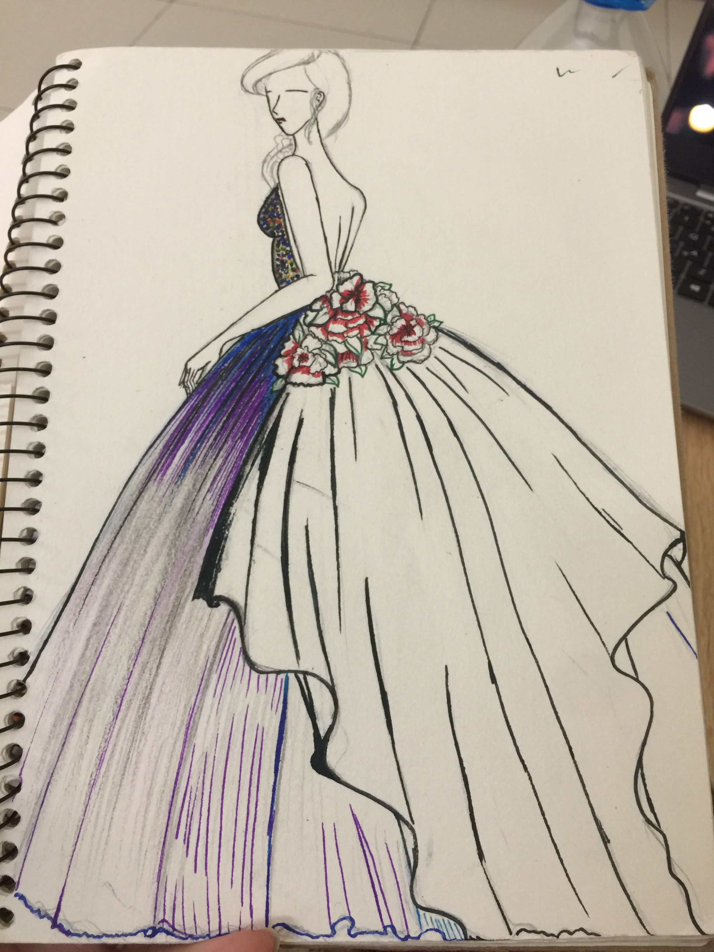 Pin By Jose Anchondo On My Love Fashion Drawing Sketches Fashion Drawing Dresses Fashion Design Sketches
