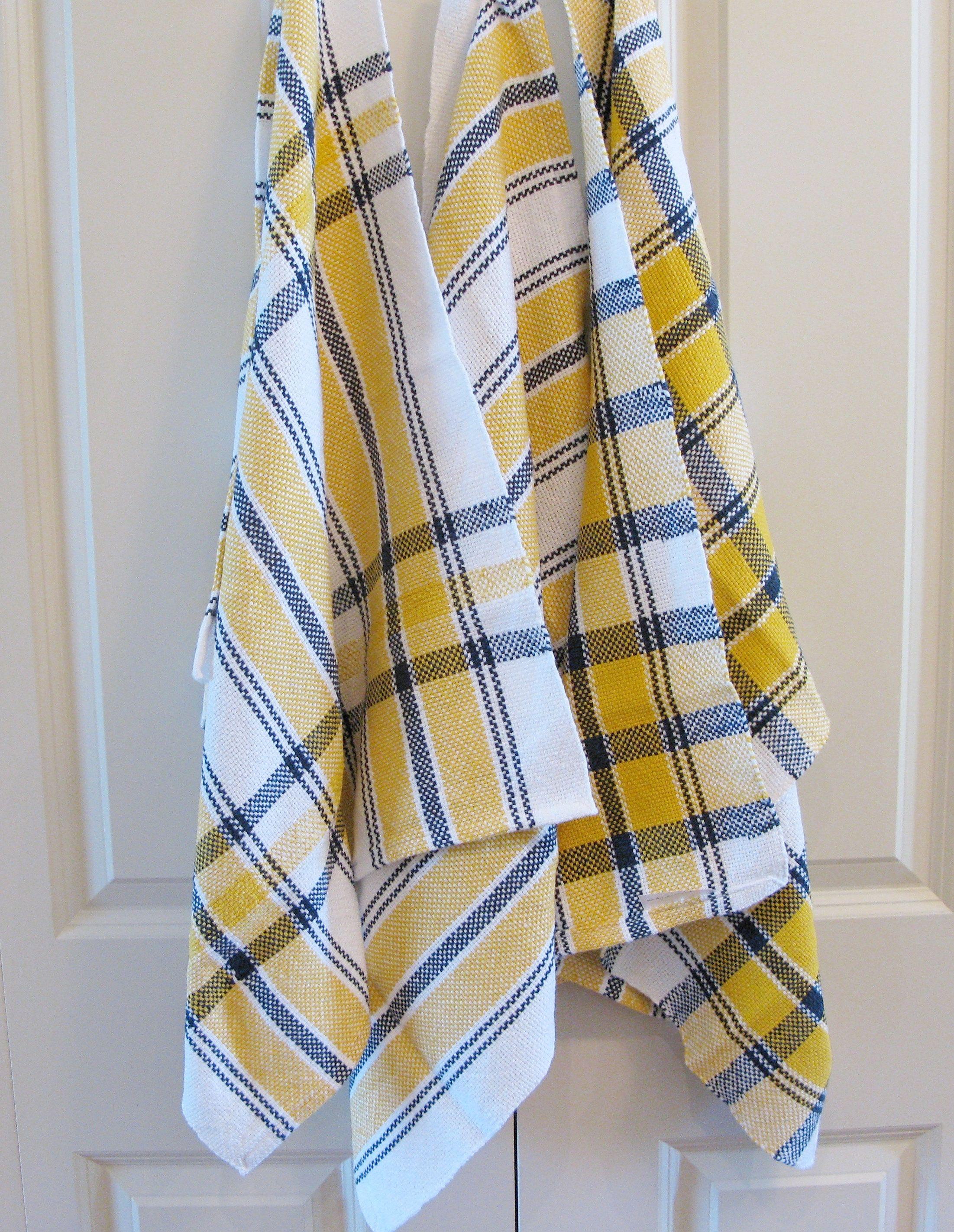 Handwoven Dish Towel Tea Towel Gourmet Cotton Kitchen Towel