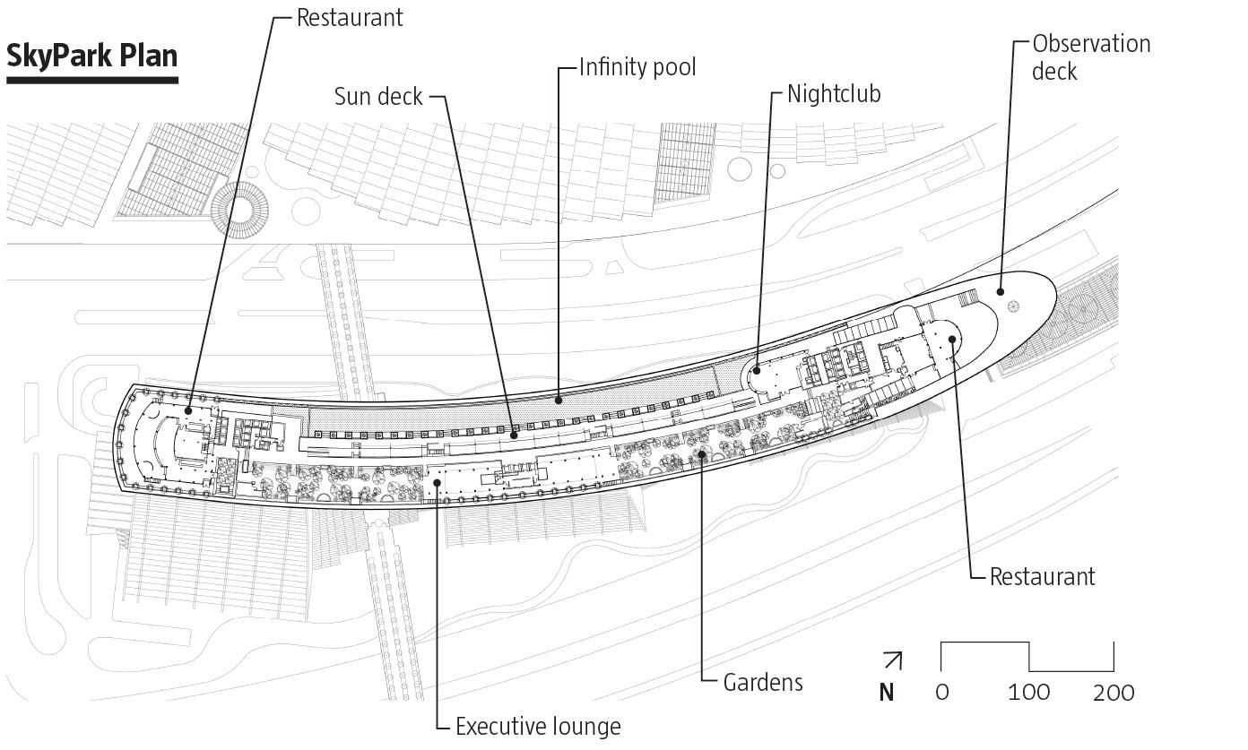 Marina Bay Sands Safdie Architects Marina Bay Sands Marina Bay Grundriss