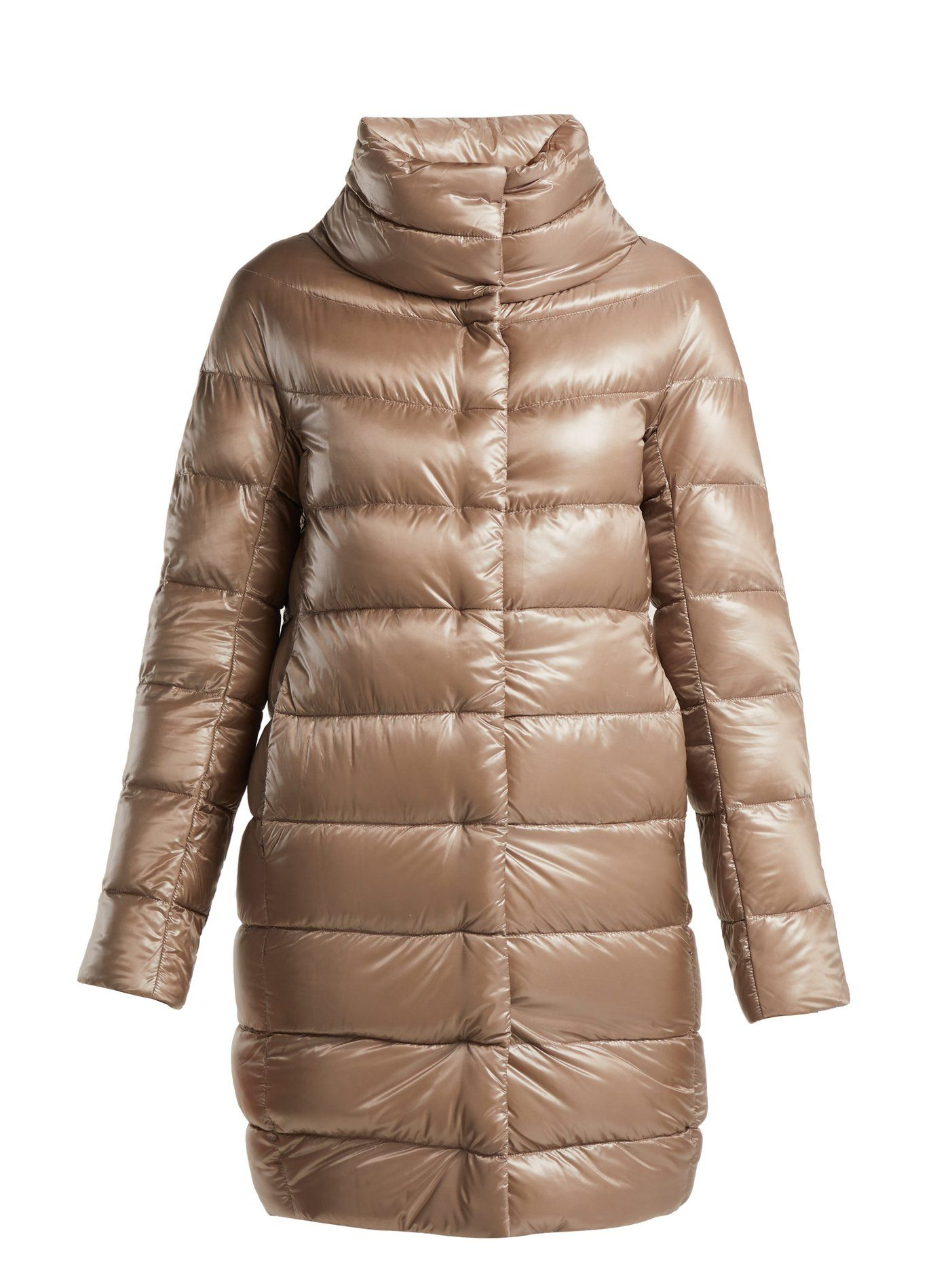 a2a9a3ab0 Dora mid-length light-weight down jacket | Herno | MATCHESFASHION ...
