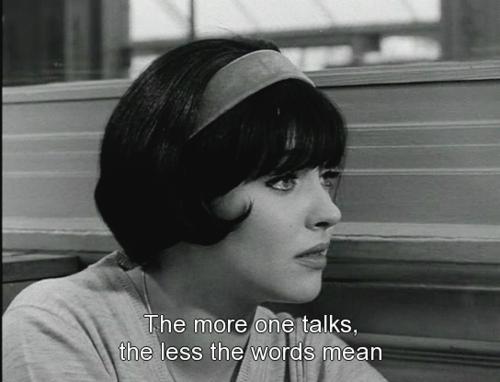 Vivre Sa Vie 1962 Jean Luc Godard Yes Movie Quotes Film