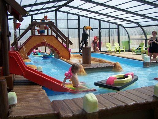 Pataugeoire Ludique Camping Evasion Vendee Piscine Enfant | Espace