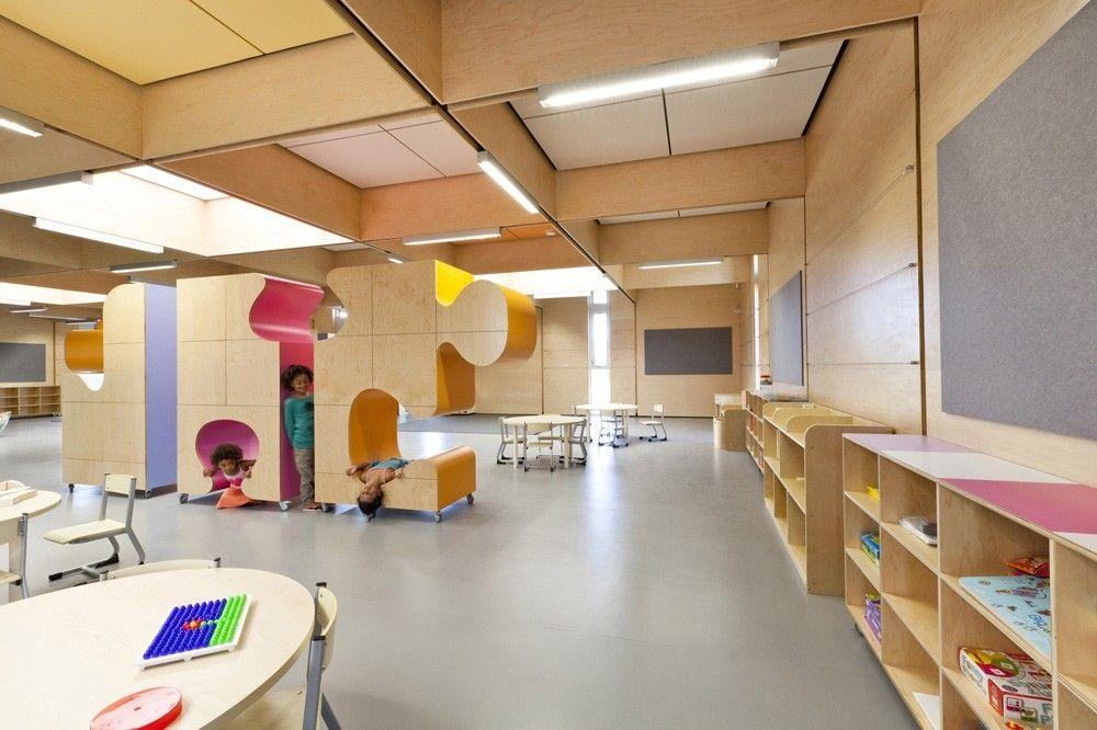 Hestia Daycare Center By NEXT Architects Claudia Linder In Rivierenbuurt Amsterdam The Netherlands
