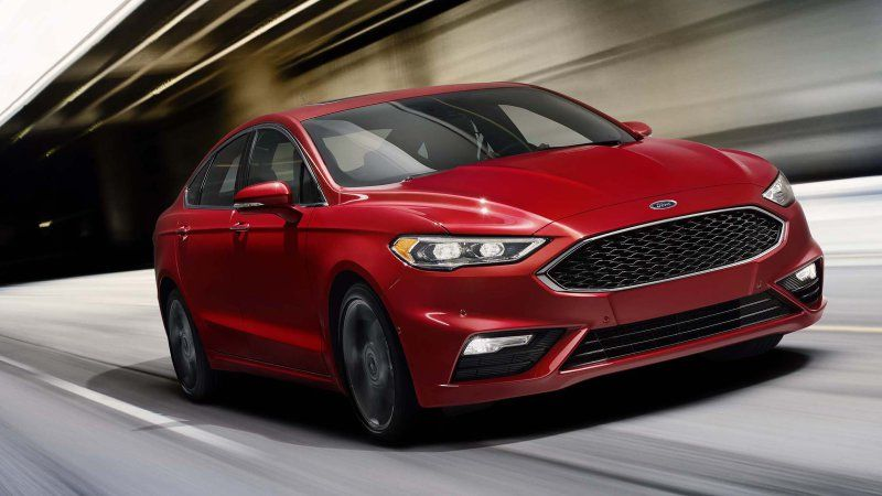 2017 Ford Fusion gets 325hp Sport model with AWD Ford