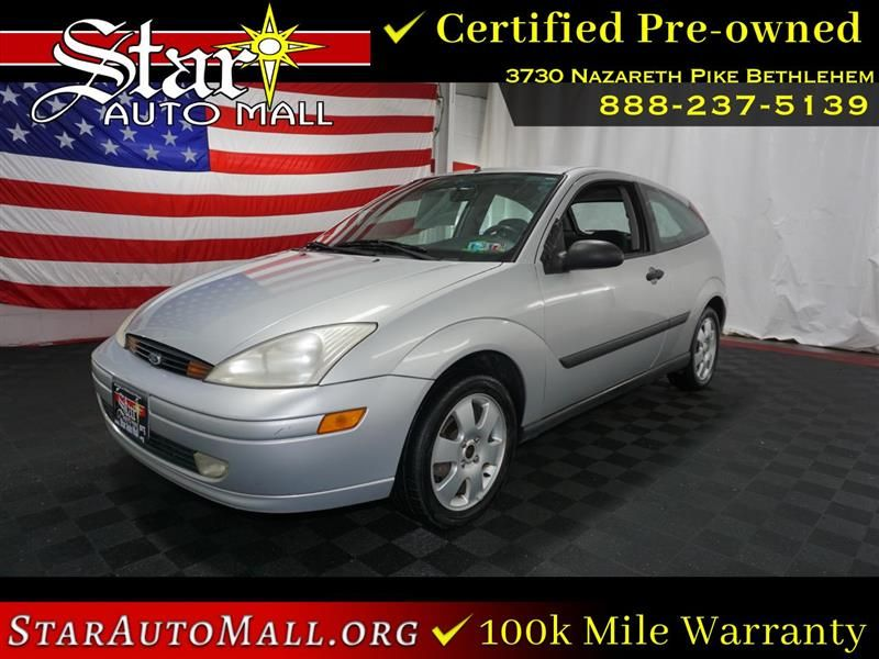 2001 Ford Focus 3dr Cpe Zx3 Ford Focus Ford Certified Pre Owned