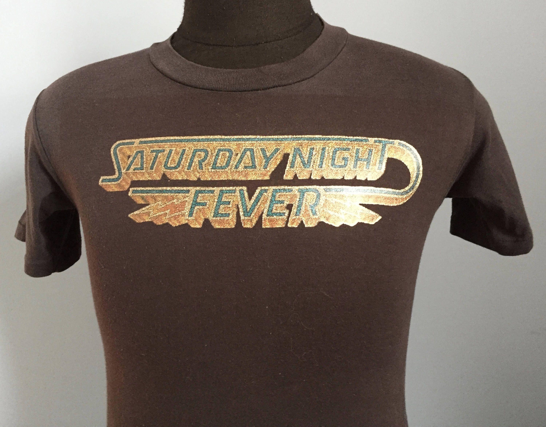 Saturday Night Fever Travolta funny vintage reto  T Shirt
