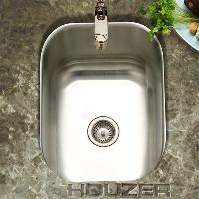 Houzer Cs 1307 1 Club 12 7 16 By 14 11 16 Inch Undermount Stainless Steel Bar Or Prep Sink Expressdecor Com Prep Sink Bar Sink Sink
