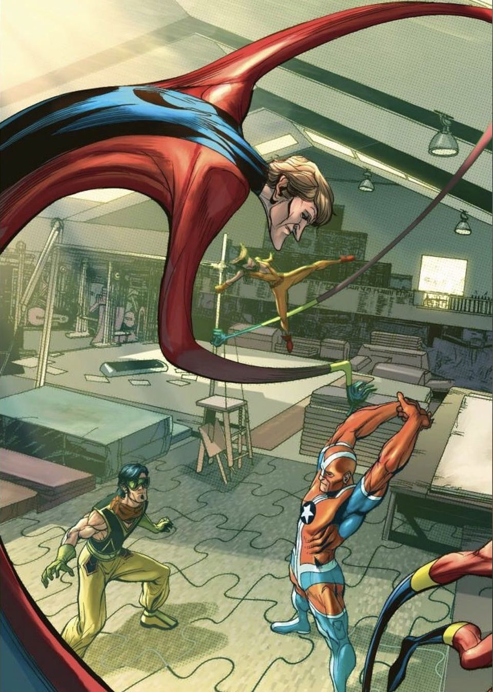 Elongated Man Dc Comics Dc Comics Art Justice League