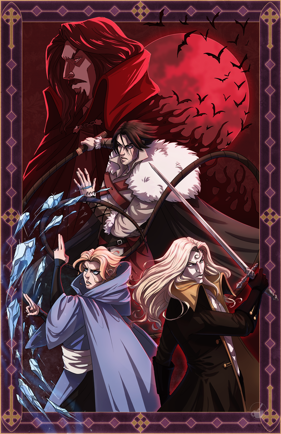 Castlevania by BeanyCoffee on DeviantArt Alucard, Art