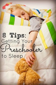 8 Tips for Getting Your Preschooler to Sleep