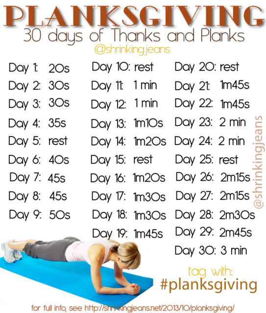 plank challenge for beginners - Google Search