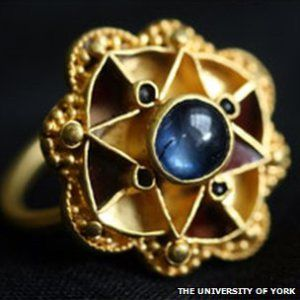 Escrick ring may be older than first thought and likely to have royal connections instead of belonging to a bishop. Click through for article.