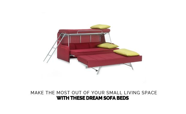 3 Dream Sofa Beds That Beat Small Space Living Diy Bunk Bed