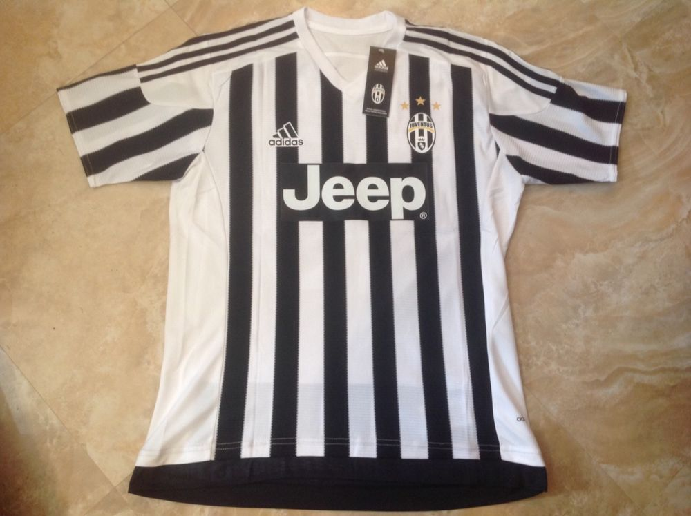 06035e3b0 Brand New Juventus number 10 Pogba Home Jersey Size Medium  adidas  Juventus