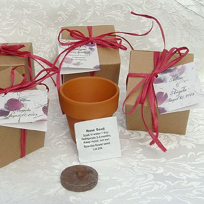 Wedding Flower Seed Favors Are Unique Party With Personalized Packets For A Memorable Guest