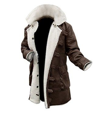 Mens Shearling Coat Brown Leather Shearling Jacket ▻BEST SELLER ...