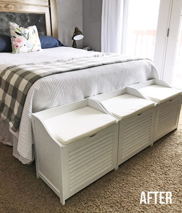 Small Bedroom Laundry Storage Benches The Craft Patch Small