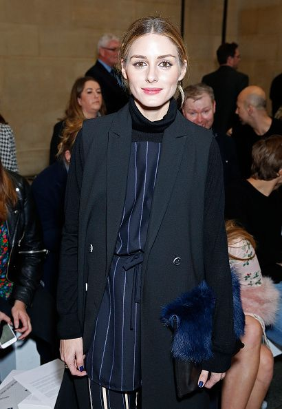Olivia Palermo attends Topshop Unique LFW AW16 runway show at Tate Britain on February 21, 2016 in London, England.