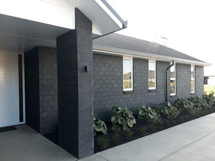 Image Result For Black Brick Houses Nz Grey Brick Houses