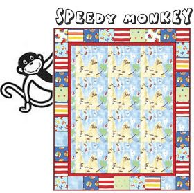 ! Sew we quilt: Guest #46 with Corrie and her Speedy Monkey to the Rescue and giveaway of Cuddles