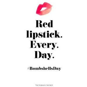 Lipstick Quotes Glamorous Red Lipstick Quotes  I Say. Pinterest  Red Lipstick Quotes